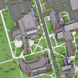 HWS - Campus Map