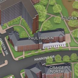 Craige North Residence Hall Maps The University Of North Carolina At Chapel Hill