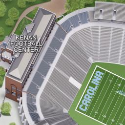 Kenan Stadium Maps The University Of North Carolina At Chapel Hill