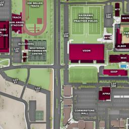 ASU Interactive Map