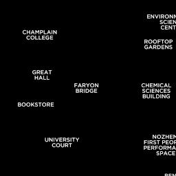 Trent University Peterborough Durham Ontario Canada Interactive Campus Map