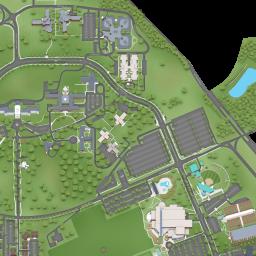 u of alabama campus map Map University Of Alabama