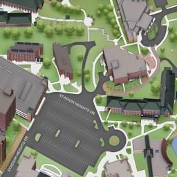 Interactive Campus Map Appalachian State University