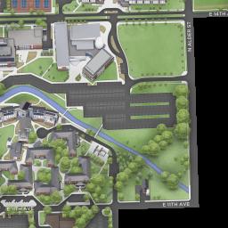 CWU   CWU Campus Map