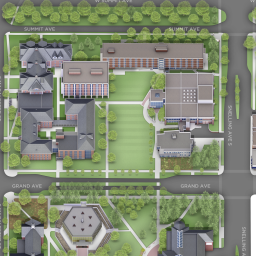 U Of Mn St Paul Campus Map.Campus Map Macalester College