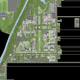 Butler University Campus Map Butler University