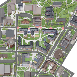 map of iup campus Map Of Indiana University Of Pennsylvania map of iup campus
