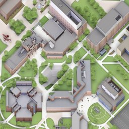 Wright State Campus Map Maps   Wright State University