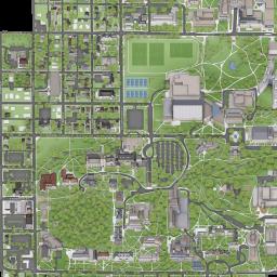 map of iu campus Iu Bloomington Campus Maps Indiana University map of iu campus